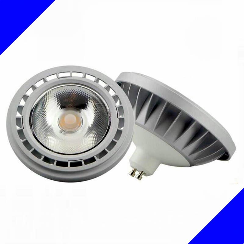 AR111 QR111 ES111 GU10 CONDUZIU a Lâmpada 12 W 15 W Entrada AC85-265V DC12V  holofotes G53 COB Ampola Luz Warm White Cool White pode ser escurecido 3401181c927d5