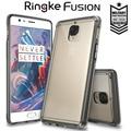 Fusão Ringke originais para Um Mais 3 Caso Grau Militar proteção gota crystal clear silicone suave casos capa para oneplus 3
