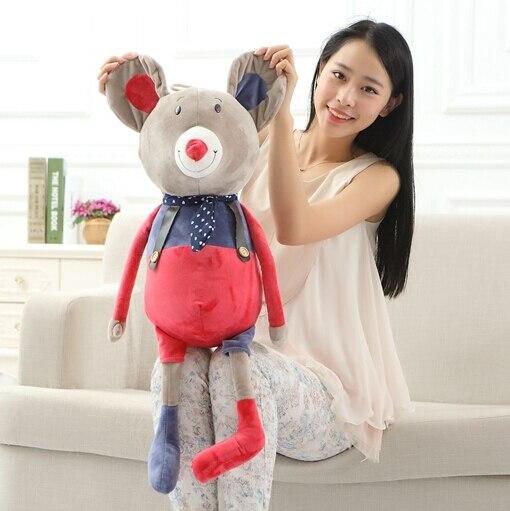 1 pcs 60CM New Arrival  Stuffed Plush Toy Cute Soft KUKU Elephant Mouse Rabbit Bear High Quality Gifts Free ShippingYZT0004