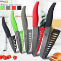 Ceramic Knife 6 inch 5 inch 4 inch 3 inch Kitchen Knife Chef knives Zirconia Black Blade Utility Slicing Fruit Vegetable Cutter
