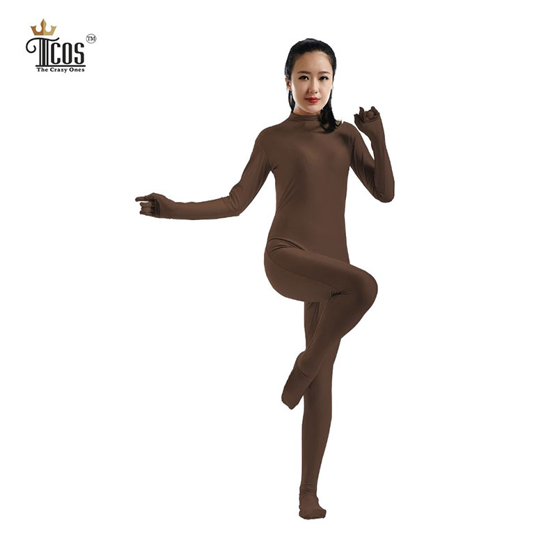 Online Buy Wholesale brown unitard from China brown ...