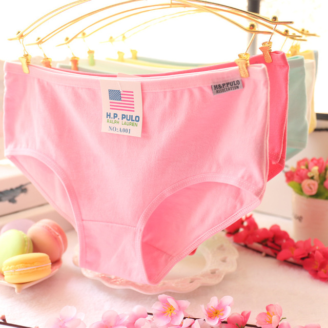 Wholesale 100 Women Cotton Menstruation Panty Cute Pink Comfortable  Menstruation Panty Underwear Lingerie Briefs Panties