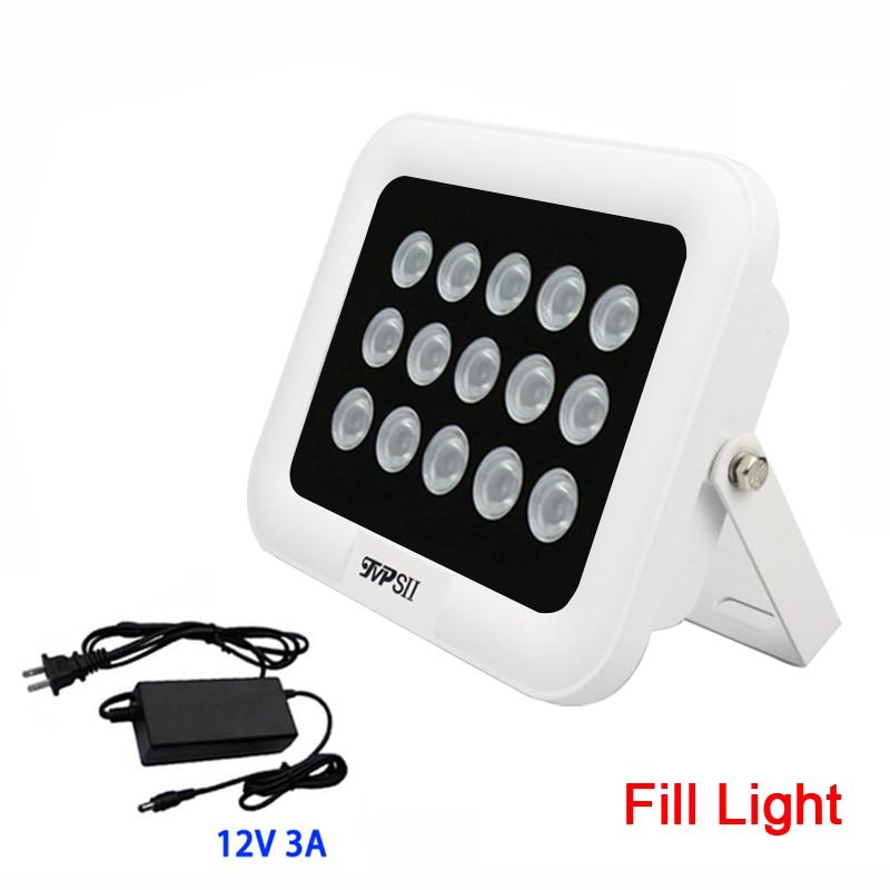 12 V 3A Extérieure caméra de Vidéosurveillance 850nm 15 pièces Tableau Infrarouge 42mil Remplissage Led Vision Nocturne illuminateur Lampe livraison gratuite