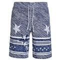 2017 High Quality Summer Fashion Striped Men's Board Shorts Casual Beach Shorts S-XXL