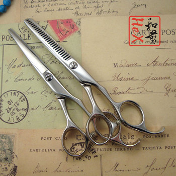 free case! Free case! hair shears 5.5 set Professonal hair styling Japanese 440C scissors sets