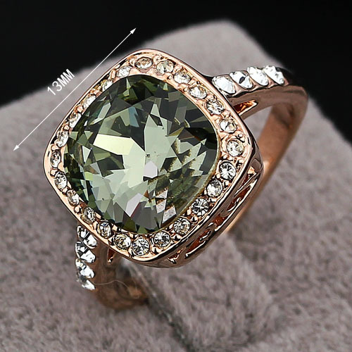 Aliexpress Buy Womens Designer Rings Shining Rhinestones