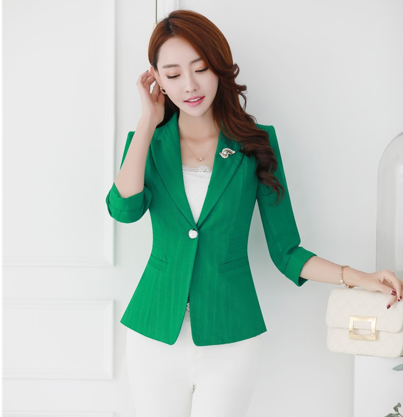 Popular Ladies Green Blazer-Buy Cheap Ladies Green Blazer lots ...