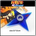 Naruto shuriken de rotación, cojinete giratorio de dardos, cos props, Anime arma modelo de juguetes, cuchillo de juguete, regalos para los niños.