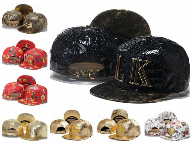 ... clearance last kings d9 leather snapback hats lk metal gold logo  fashion hiphop mens women casquettes c141c1366a41