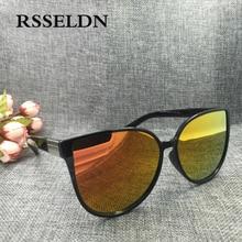 RSSELDN 2018 Newest Fashion Cat Eye Sunglasses Women Luxury Brand Vintage Sun Glasses UV400 oculos de sol gafas de sol hombre