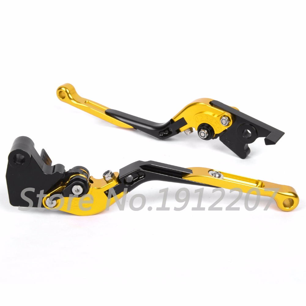 ФОТО For Suzuki GSX1400 2001-2007 Foldable Extendable Brake Clutch Levers Aluminum Alloy CNC Folding&Extending Motorbike Brakes 2006
