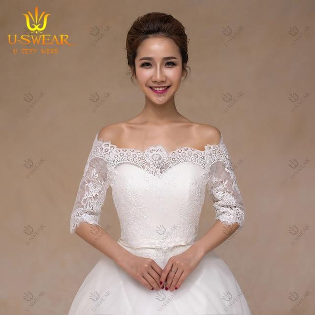 Aliexpresscom Buy wedding dress accessories jacket ivory fur