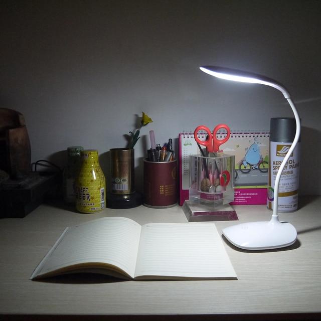 3 Modes Adjust Fashion LED Rechargeable Desk Lamp Smart Touch Eyes Protective MAZ-TEK Led Table Lamp Night Light