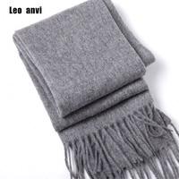 luxury brand Winter scarf 100% wool cashmere shawls bandana women scarf fashion and wraps gray men scarf poncho pashminas