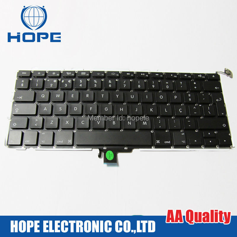 Original Portuguese Keyboard For Apple Macbook Pro 13'' A1278 Portugal With Backlight 2009 2010 2011 2012
