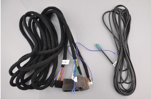 Кабели электропитания для Mercedes-Benz оптический Волокно Amplifer (продается с DVD только, не дайте заказ, если вы не купить DVD от нас)