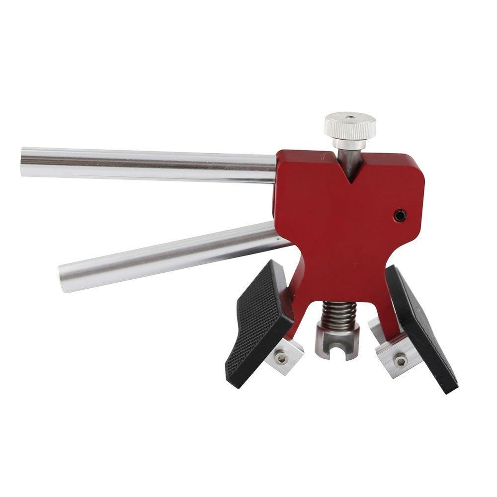 Red Dent Lifter Paintless Dent Repair Strumento per la rimozione di - Set di attrezzi - Fotografia 4