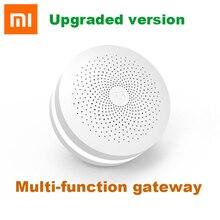 Xiaomi multifonctionnel passerelle 2 centre de contrôle intelligent Kit de maison intelligente mise à niveau Version deux commandes intégré Radio sonnette anneau