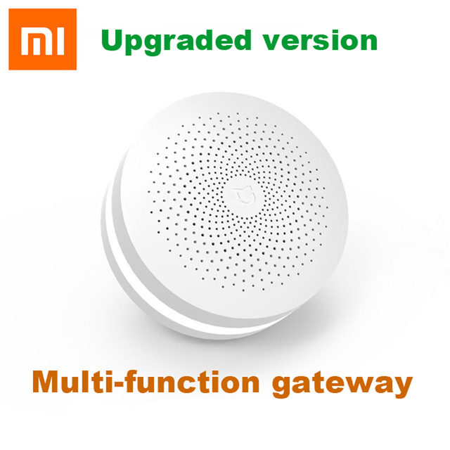 Xiaomi multifunctional Gateway 2 Smart Control Center Smart Home Kit Upgrade Version Two Control Built In Radio Doorbell Ring