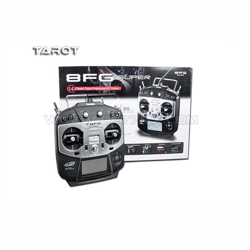 Tatot-Rc D'origine Futaba 2.4g 14CH T8FG super Émetteur/Télécommande avec R6208SB récepteur
