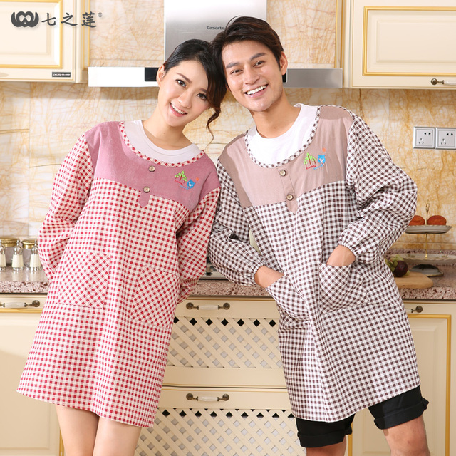 Hot Women S Kitchen A Female Woman Tablier Delantal Cuisine Home Waterproof Cooking