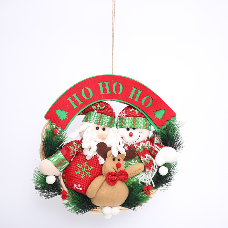 New Fashion Garland Santa Claus Hanging Ornaments Christmas Decorations For  Xmas Tree Happy New Year DIY Home Party Supplies In Pendant U0026 Drop  Ornaments ...