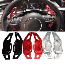 New Car Steering Wheel Shift Paddle Shifter For AUDI A5 S3 S5 S6 SQ5 RS3 RS6 RS7(China)