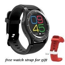 G8 smartwatch Браслет Bluetooth 4.0 sim-вызов сердечного ритма Приборы для измерения артериального давления Мониторы Шагомер Спорт Смарт-браслет для iOS и Android