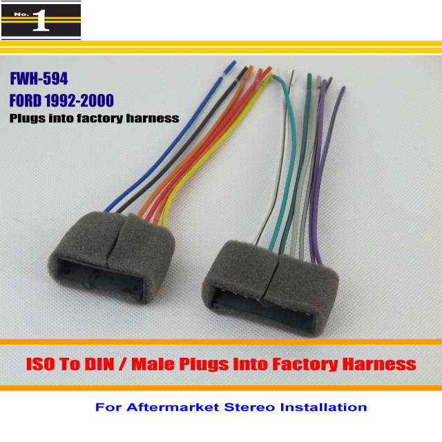 online get cheap ford wiring harness connectors aliexpress com Ford Wiring Harness Connectors car wiring harness for ford explorer f series pickup 500 focus car stereo adapter connector ford wiring harness connectors