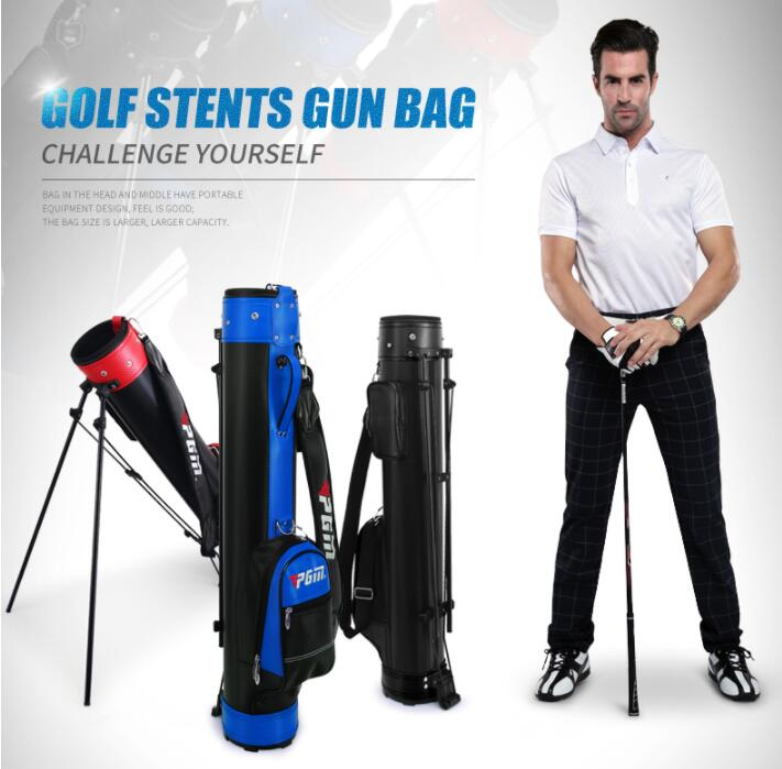 High quality! Professional Golf Gun Bag Portable Big Capacity Golf Rack Bags 13 Clubs Contained Club Equipments Accessories top quality dragon golf club set bag sport golf clubs bag high grade pu golf bags practice golf sets 3 colors are available
