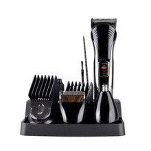 Electric Hair Trimmer Rechargeable Hair Cutting Machine Barber  Clipper / Nose Trimmer / Shaver Set