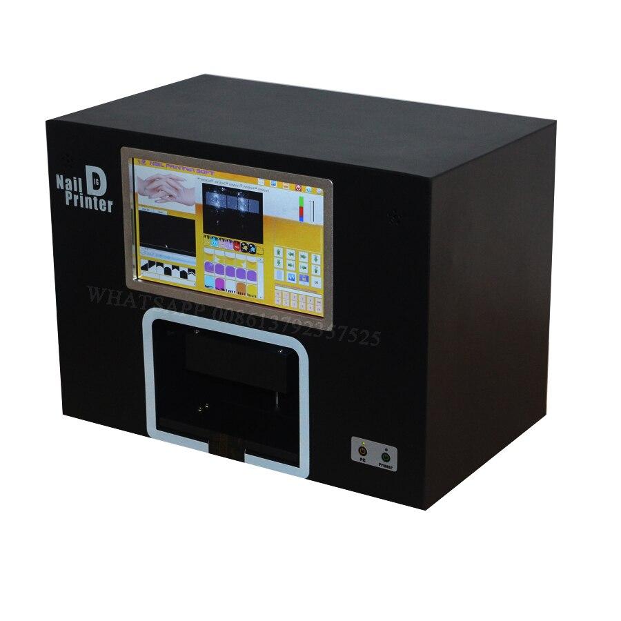 YENİ UPGRADED CE təsdiqlənmiş kompüter daxili dırnaq printeri 5 - Dırnaq sənəti - Fotoqrafiya 5