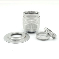 50 мм f1.4 C крепление CCTVcamera объектив + Macro Ring + C, чтобы M4/3 переходное кольцо Бесплатная доставка