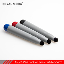 factory supply electronic whiteboard touch pen new pure wool mushroom-shape touch pen for school with felt tip china drawing pen 1 2m telescopic pointer with felt touch pen for infrared interactive electronic whiteboard tv touch large screen demo pointer