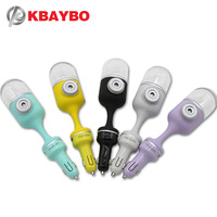 KBAYBO Car Air Humidifier Mini Car Aroma Essential Oil Diffuser Humidifier Aromatherapy Portable Cool Mist Purifier