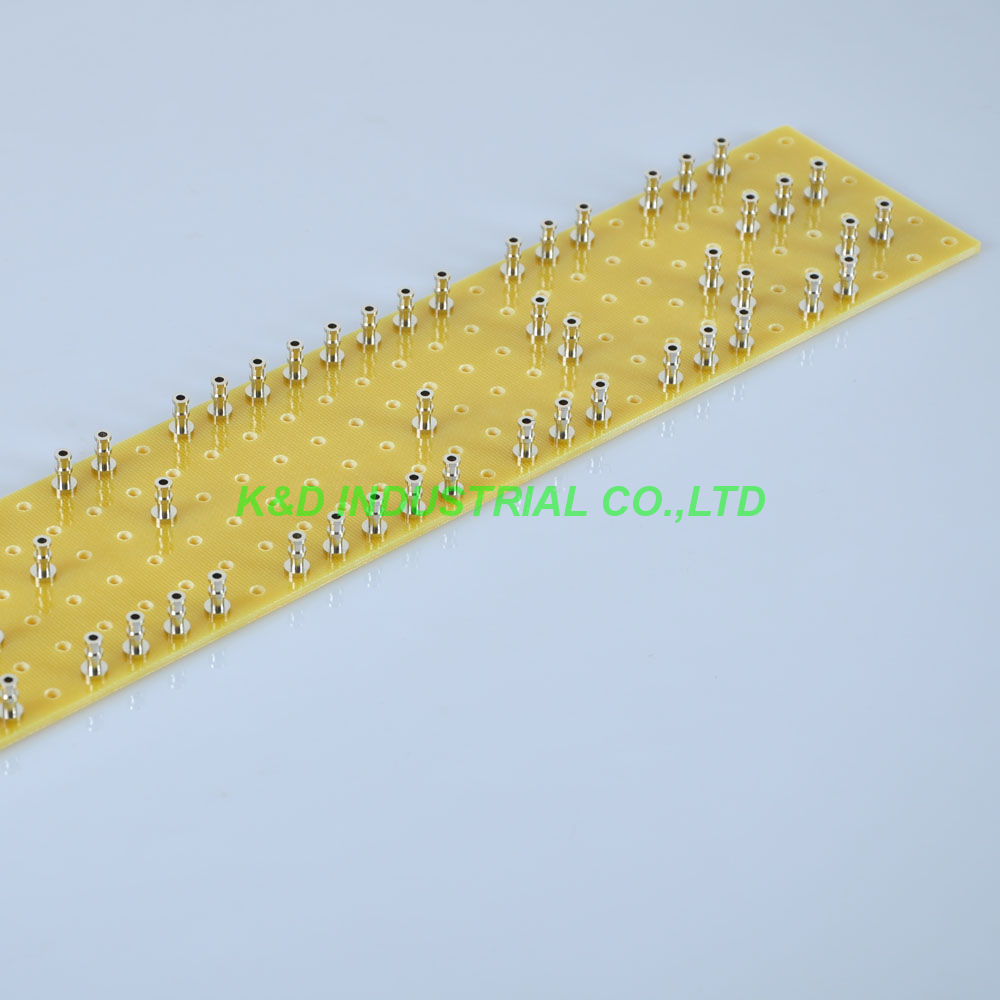 1pcs 60 300mm Fiberglass Terminal Strip Turret Tag Board for JCM800 2204 2203 Guitar Amplifier Parts