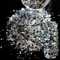 Dazzling Makeup Glitter Colored Nail Art Glitter Mix DIY Manicure 3D Dust Powder Mixed Colors Sequins Nail Products 259