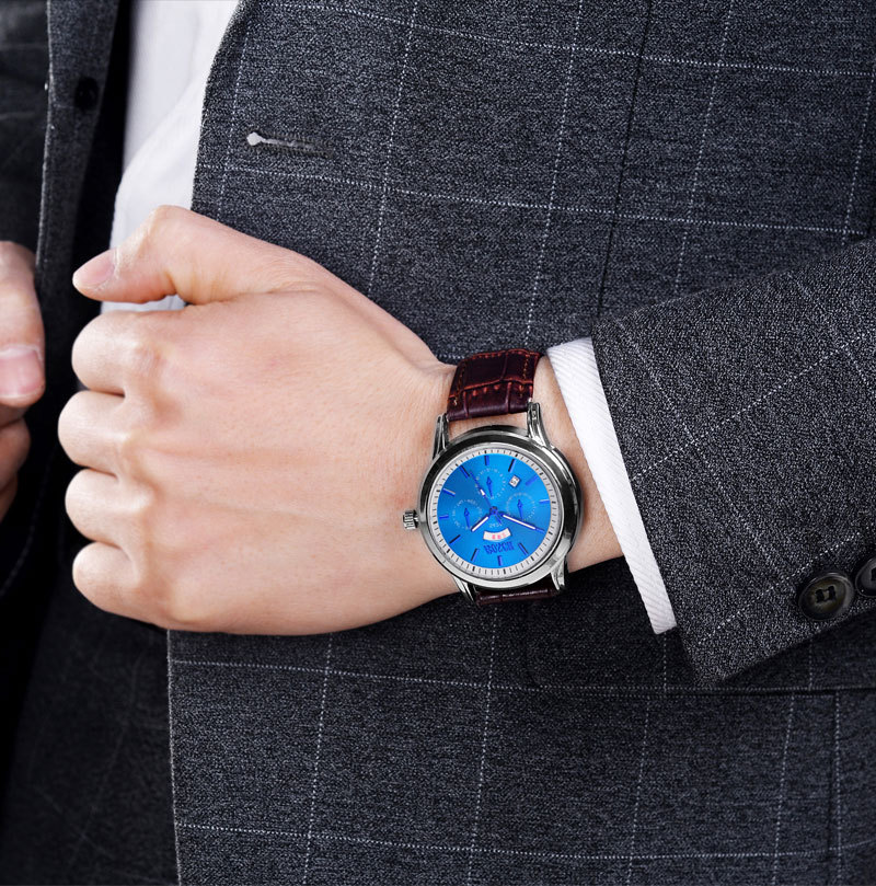 Brand Analog sports Men Watches Fashion Creative Quartz Leather Strap Wristwatch Date Male Clock Reloj Hombre natural bamboo watch men casual watches male analog quartz soft genuine leather strap antique wood wristwatch gift reloje hombre