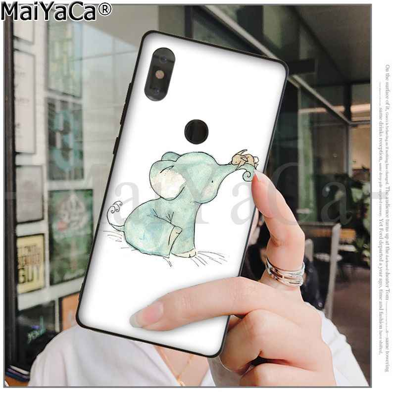 MaiYaCa חמוד פיל ארנב צבעוני חמוד טלפון מקרה עבור שיאו mi אדום mi 5 5 בתוספת Note4 4X Note5 6A mi 6 mi x2 mi x2S