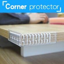 Furniture Collision Edge Banding  Children's Stool Protection Table Guard Strip Table Corner Bumper Soft Corner Cushion Pad 2Pcs