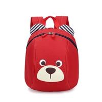 1 3 criança mochila anti perdido crianças saco de escola do urso do jardim de infância Mochilas escolares    -