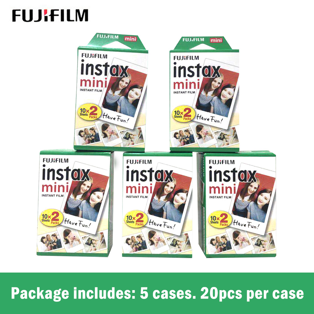 Fujifilm instax mini8 FILM 100 sheet Fuji instsnt photo Stickers for mini8 mini9 7s 25 50s