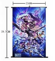 Overwatch Whole Art Japan Anime 60*90cm Wall Scroll Poster