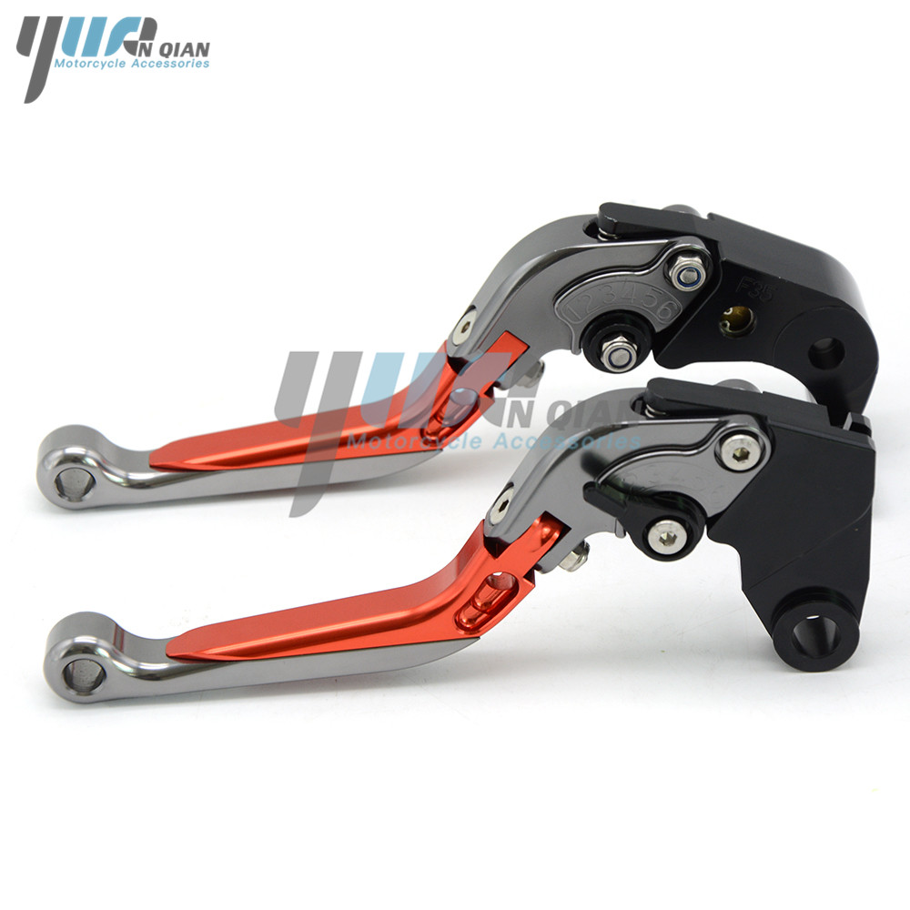 Image 4 - Motorbike CNC Aluminum Folding Extendable Brake Clutch Lever For KTM 390 Duke RC390 2013 2016 2017 200 Duke/RC200 2014 2015-in Levers, Ropes & Cables from Automobiles & Motorcycles