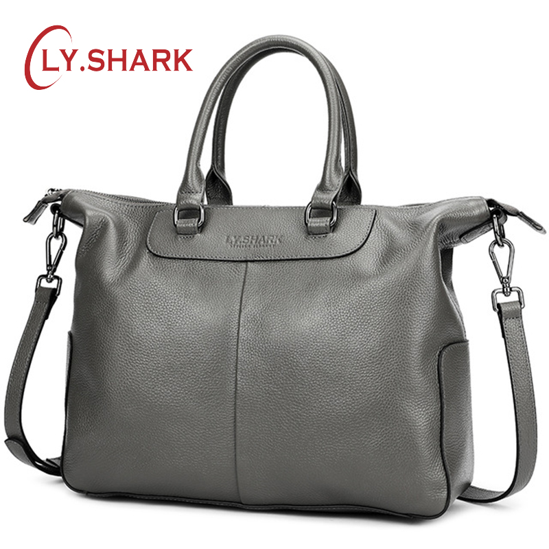 LY SHARK Female Bag Women Genuine Leather Women Handbag Brand Luxury Leather 2019 Crossbody Bag Women