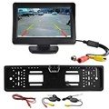 """2016 hot sale Newest 4.3"""" TFT LCD Monitor + Wireless Car Backup Camera Rear View System Night Vision very nice"""