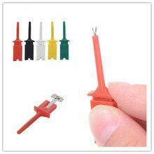 10pcs/set Test Hook SMD IC 6 Colors Clip Grabbers Test Probe