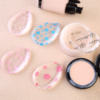 100% Star Hot water drop-shaped Silicone Sponge makeup puff For Liquid Foundation BB Cream Beauty Essentials 8