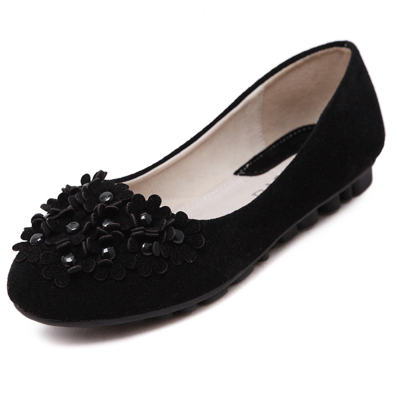 Women Flats 2017 Summer Style Casual Solid Pointed Toe Slip-On Flat Shoes Soft Comfortable Shoes Woman 35-40 pu pointed toe flats with eyelet strap