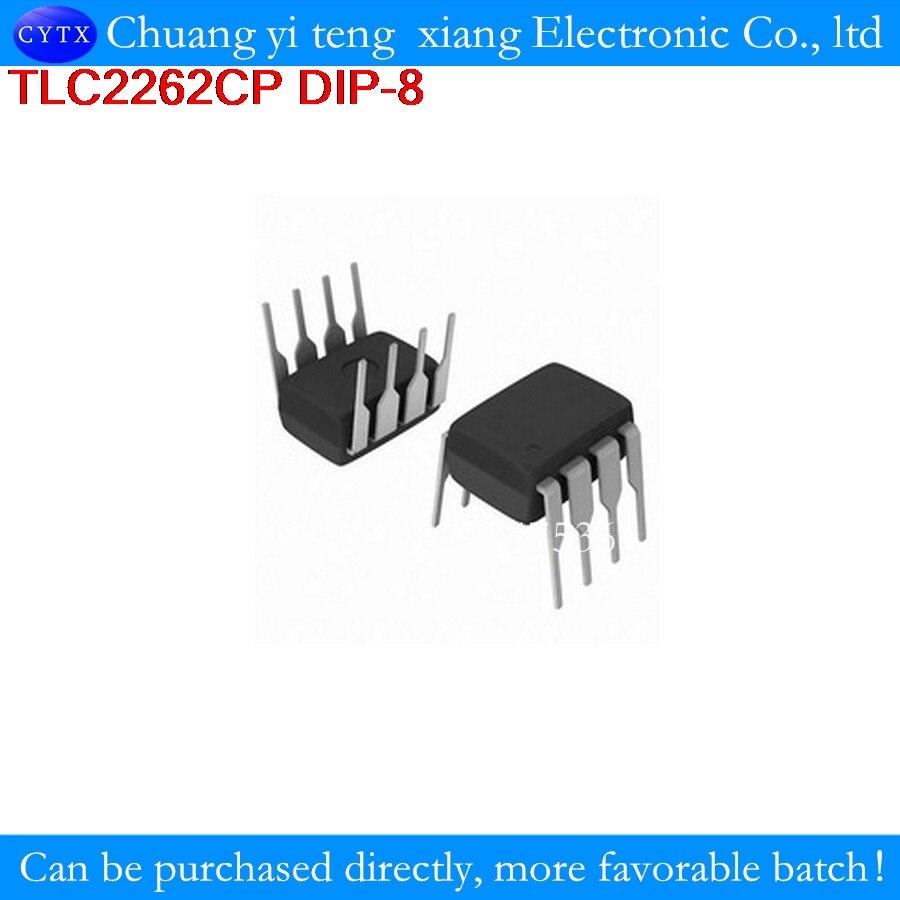 TLC2262CP TLC2262 2262 DIP-8 low- op-amp p new original DIP8 1PCS Advanced LinCMOS RAIL-TO-RAIL OPERATIONAL AMPLIFIERS
